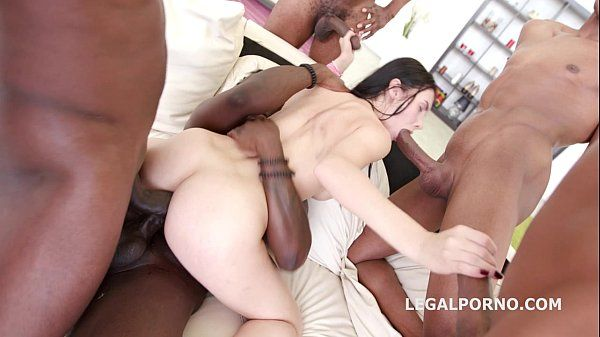 Black Busters aka 5on1 Crystal Greenvelle interracial HD