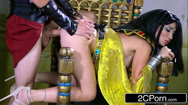 Exotic Egyptian Goddess Rina Ellis Commanding Her Submissive to Fulfill Her DesiresHD