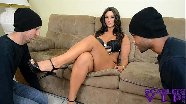 Foot Victims for Scarlet STONE Female dom Sole Idolize HD