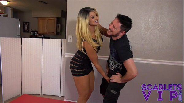 SCARLET STONE Rock hard BALLBUSTING AND Female domination FOR JASON NINJA