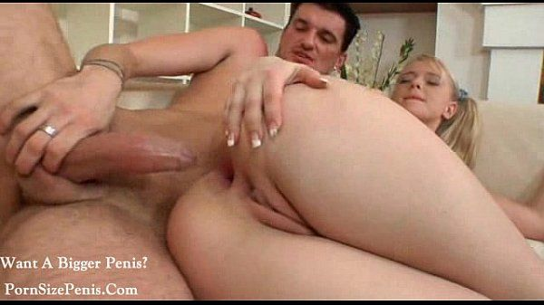 blonde girl anal invasion