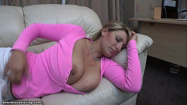 Pink T-shirt tits out sleepingDemi Scott