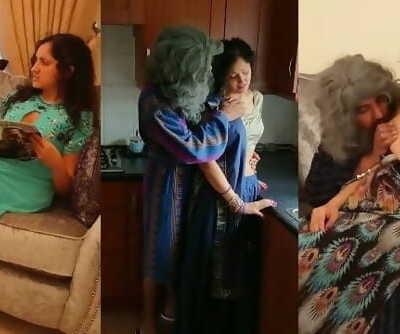 Indian grandpa screws step grand daughter sloppy desi hindi audio sex story