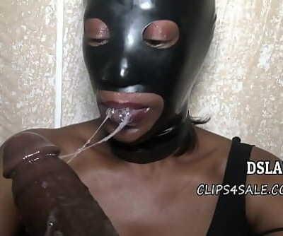 THIS IS DSLAF- My Homeboys Grandma Puts On Restrain bondage Mask To Suck Hard-on 21 sec 1080p