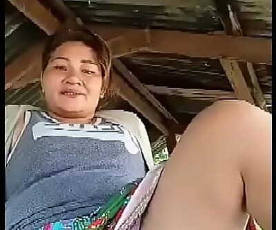 Thai aunty flashing outdoor Sixty nine sec