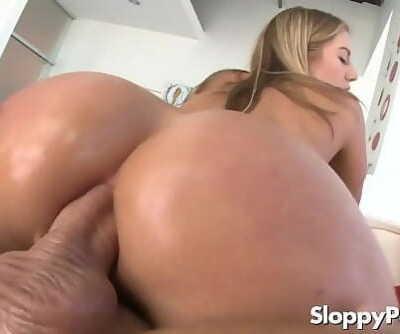 Hot anal cowgirl Candice Dare 6 min 720p
