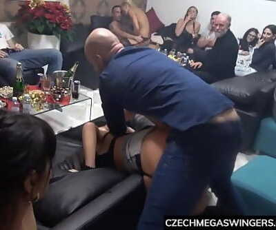 The Real Czech Mega Spray at Swingers Party 6 min 1080p