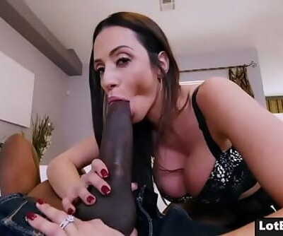 Big pouch dickblowers busty MILF cocksluts doggystyle screwed 5 min