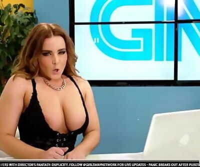 Sapphic TV showWhitney Wright and Natasha Tongues 6 min 720p