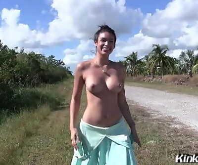 Latina Milf Porno starlet Katana Kombat gets screwed outside on the road 13 min 1080p