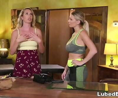 This is like I having hookup with your hands!Brett Rossi and Kenzie Taylor 6 min 720p