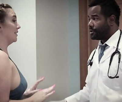 Black Doc assfucked his favourite patientPURE TABOO 6 min