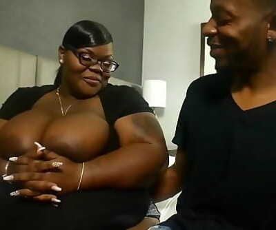 huge booty seized mom Notmyequalxxx providing extraordinaire head to Don Prince on BBWHighway 2 min 1080p