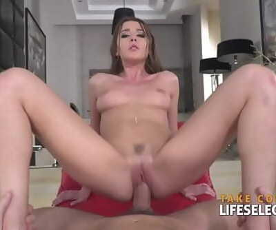 Beauty contestant Sybil sans bra and nails POV 10 min 720p