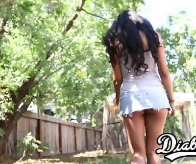 18yo latina Ruby Rayes stuffed with big dick before facial 12 min 1080p