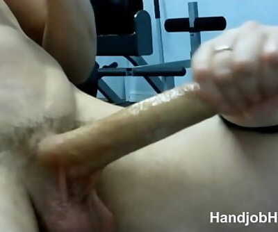 Wife giving my huge cock a workout till i cum 5 min 720p