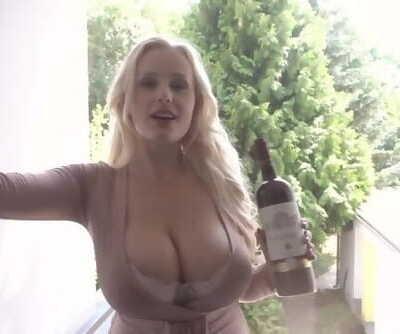 Glamkore - Blonde Nymphomaniac Angel Wicky Anal Sex