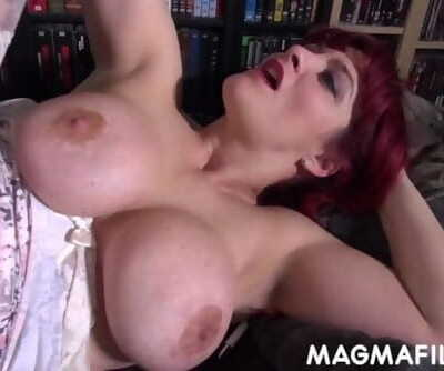 Big Hooter Cougar Antsy to get her Pouch Fucked by a Young Guy