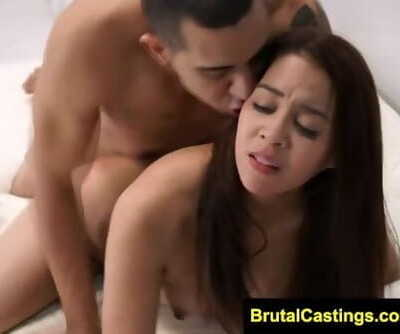 Brutal Audition - Jade Dylan - Scorching Teen Gets Roped on her Audition