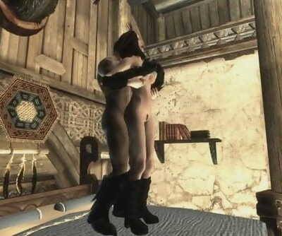 Skyrim - Hookup with my Wife