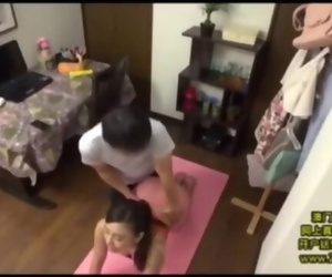 Japanese Wifey Yoga Session gone Naughty
