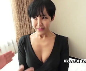 Gross Korean GRANDMA is a wild hoe and gets fucked by..
