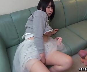 Japanese tart's doll, Riku Nekota sucks dick, uncensored 5..
