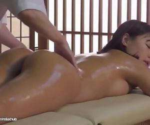 Japanese oil massage fat boobs jav porno 23 min 720p