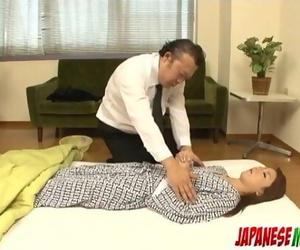 Rika Tamura cute fucktoy porn on web cam in dirty manners