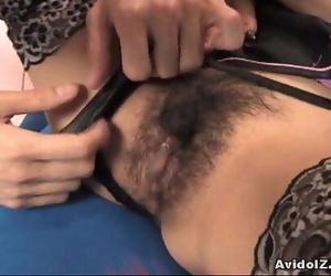 Sexy woman Ami Matsuda receiving pussy enjoyments