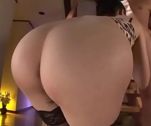 Kei Akanishi amazes with her taut pussy and assMore at..