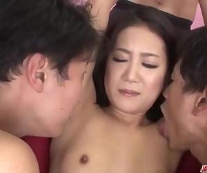Kyoka Sono appealing woman nailed by 2 men More at..