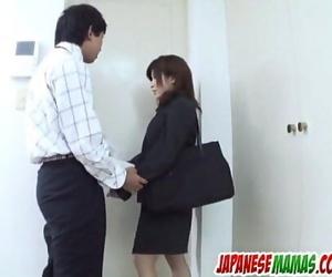 Outdoor cock big-boobed experience for Kana Shimada