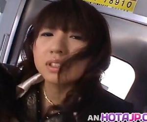 Misato Kuninaka is full of jizz