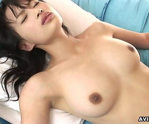 Buxomy Asian bombshells pussy gets extremely raw while..