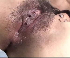 Top Hitomi Aizawa amazing hook-up and finger fucking More..