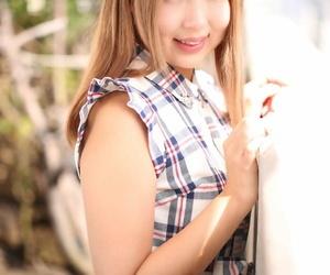 Small Japanese woman Mone Namikata rails a cock before..
