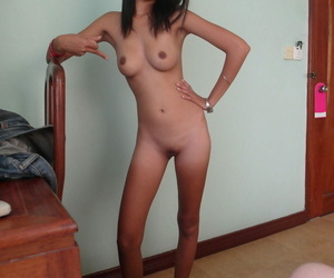 Thin Cambodian woman takes an inner jizz shot from a sex..