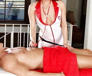 Extraordinaire Asian deep-throaters Kalina Ryu sucking a..
