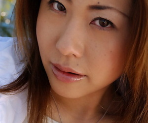 Whorish asian honey unveiling her thick fun bags and..