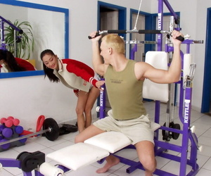 Sporty thai hoe with skinny curves gets shagged and..
