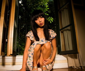 Japanese beauty Marica Hase is undressed by a guy..
