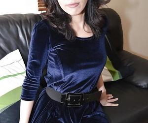 Asian cockblowers Michiru Saeki is opening up her accurate..