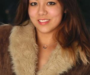Amateur Asian model Tiffany onanism brilliant petite..