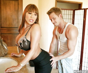 Asian MILF babe Ava Devine getting humiliated and fetish..