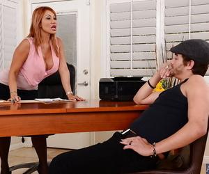 Impressive xxx milf teacher Ava enjoys to eat that big cock