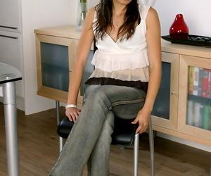 Hairy amateur Asian actress Lexine is one wild superslut..