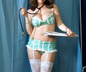 Thick boobed Asian nurse Kianna Dior ravages her patients..