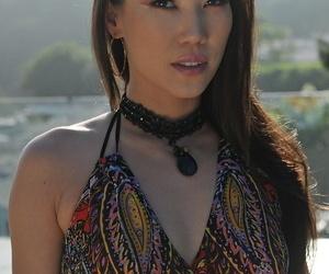 Asian wife Kalina Ryu gives neighbor hot footjob and gets..