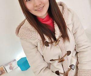Asian teenage Ayaka Oda gets naked and involved into..
